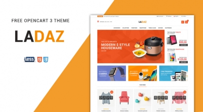 So Ladaz - Free Responsive Multipurpose OpenCart 3 & 2.3 Theme