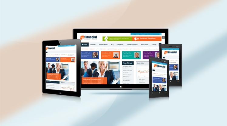 SJ Financial - Responsive Joomla Financial News Template