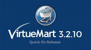VirtueMart 3.2.10 - A Quick-fix Release