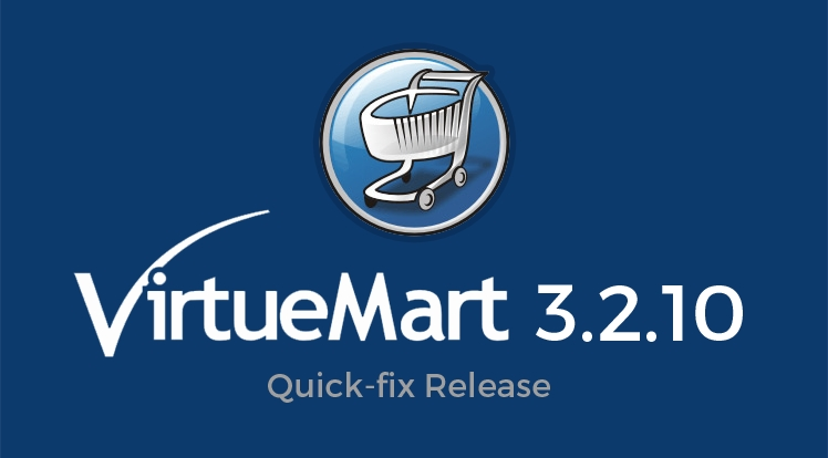 VirtueMart 3.2.10 - A Quick-fix Release