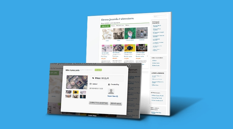 Sj Quickview for DJ-Classifieds Component - Joomla! Plugin