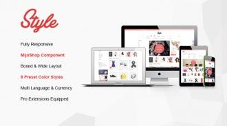 SJ Style - Responsive Joomla eCommerce Template