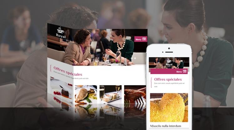 SJ Royal - Responsive Joomla Restaurant, Hotel Template