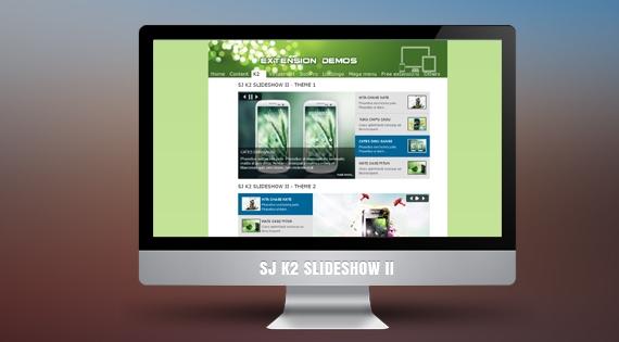 SJ K2 SlideShow II - Joomla! Module