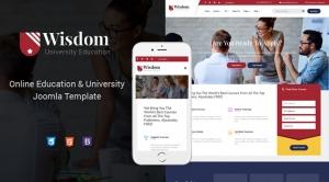 Sj Wisdom - Premium Education Joomla Template for College & Universities