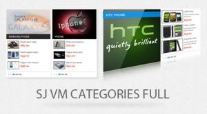 SJ Categories Full for Virtuemart - Joomla! Module