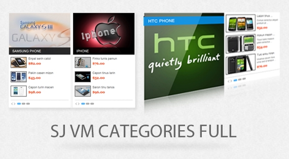 SJ Categories Full for Virtuemart - Joomla! Module