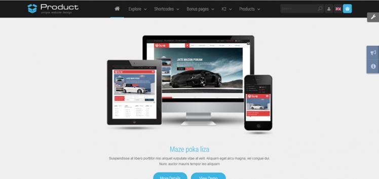 SJ Product - Professional Business Joomla Template