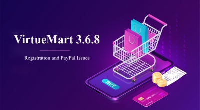 VirtueMart 3.6.8 Release - Registration and PayPal Issues Fixes