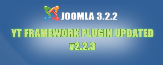 New update on YT Framework Plugin. Check it out!