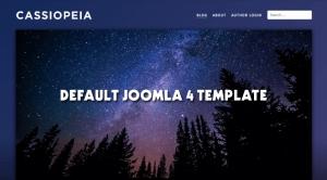 Cassiopeia - Default Frontend Joomla 4 Template