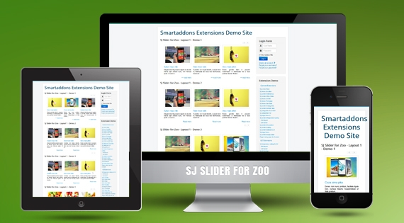 SJ Slider for Zoo - Joomla! Module