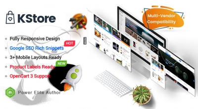 KStore - Multipurpose OpenCart 3 Hi-Tech Theme ( 3 Mobile Layouts Included)