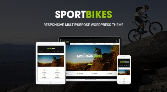 SW Sportbikes - A Super Clean WordPress Sports Theme with WooCommerce