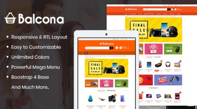 So Balcona - The Multipurpose Opencart 3 Theme