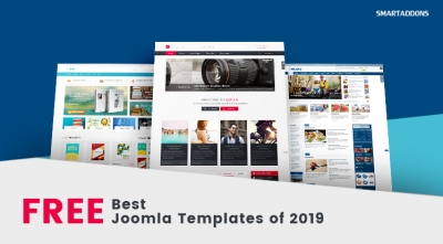 Top 10 Free Joomla Templates 2019