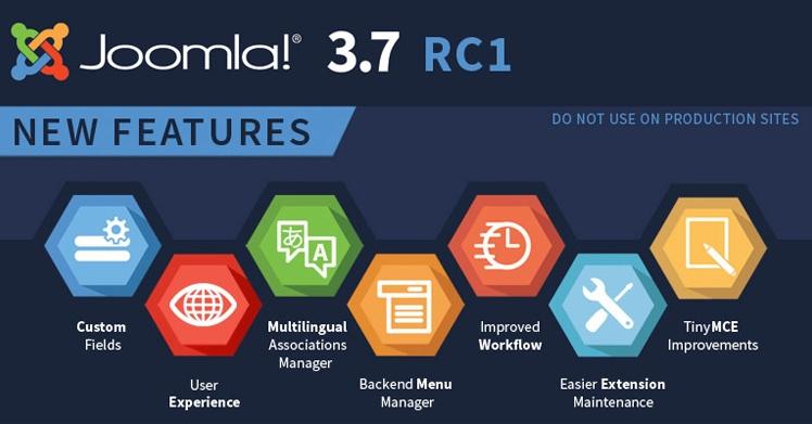 Joomla! 3.7.0 Candidate 1 Released
