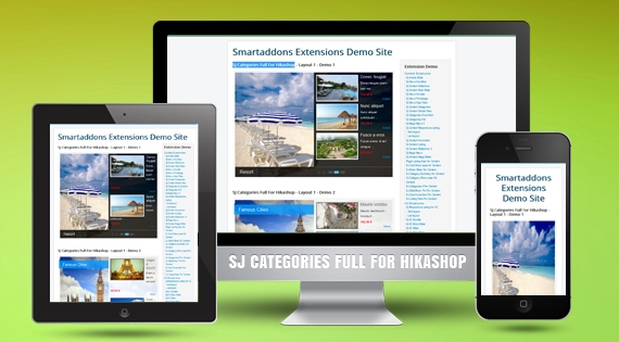 SJ Categories Full for HikaShop - Joomla! Module