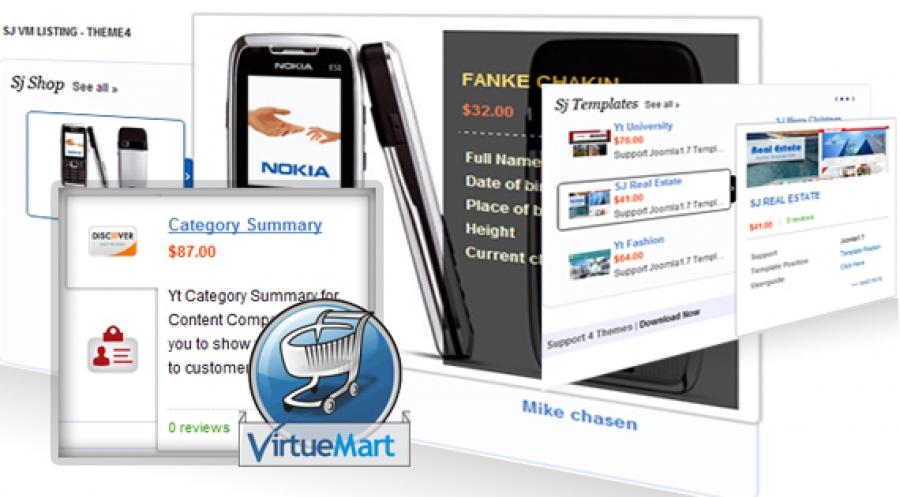 Sj VirtueMart Listing - Joomla! Module