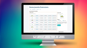 SJ Latest Jobs For JS Jobs - Responsive Joomla! Module