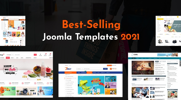 Top 10 Best-Selling Joomla Templates In 2021