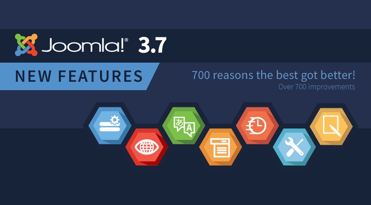 Joomla! 3.7 Stable Release - 700 Reasons the Best Got Better!