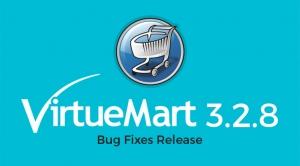 VirtueMart 3.2.8 Bug Fixes Release