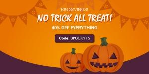 Halloween Sale! Enjoy 40% OFF Everything