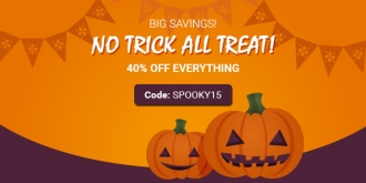 Halloween Sale! Enjoy 40% OFF Everything