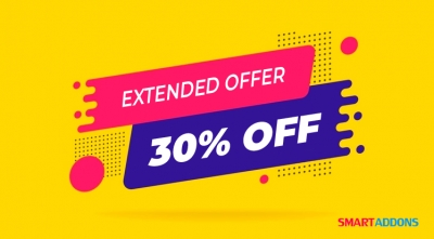Sale Extended: 30% OFF All Products and Memberships