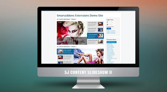 SJ Content SlideShow II - Joomla! Module