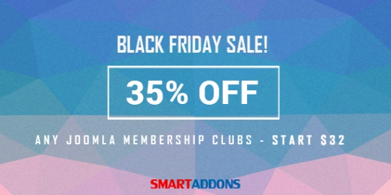 Black Friday 2015 Sale! 35% OFF on any Subscription Plans