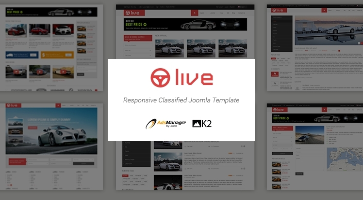 Say hello to SJ Live - AdsManager Joomla template with exquisite design!