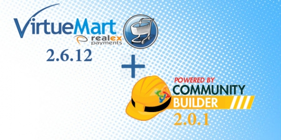 Virtuemart 2.6.12 and Community Builder 2.0.1 have arrived!