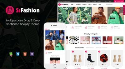 Ss Fashion - Multipurpose Drag & Drop Fashion Shopify Theme