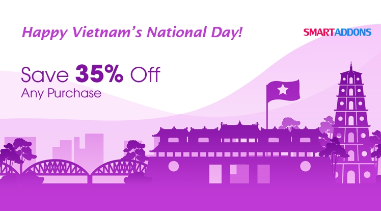 Happy Vietnam's National Day: 35% OFF for All Products & Subscriptions