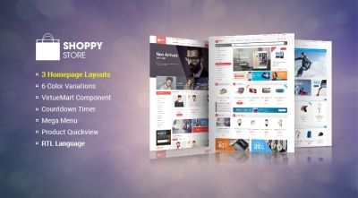 SJ ShoppyStore - A Sightly Responsive VirtueMart 3 Template
