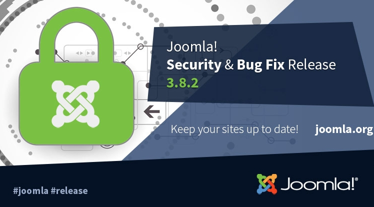 Joomla 3.8.2 Security & Bugs Fix Release