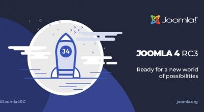 Joomla 4 RC 3 and Joomla 3.10 Alpha 8 Are Available