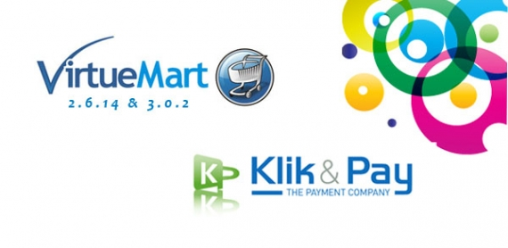 Virtuemart 2.6.14 and 3.0.2 have been released with Klik & Pay payment solution