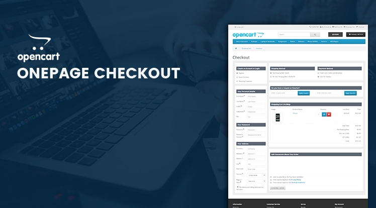 So OnePage Checkout - Responsive Checkout Module for OpenCart 3.x & OpenCart 2.x