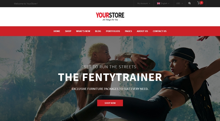 YourStore Free - Free Responsive WooCommerce WordPress Theme