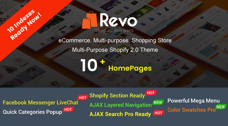 Ss Revo - Creative Multi-Purpose Responsive Shopify Drag & Drop Sections Theme