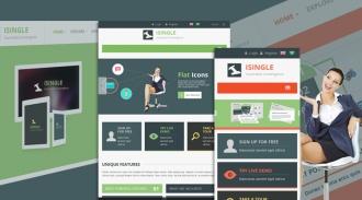 SJ iSingle - Responsive Joomla Business Template
