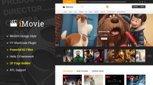 Sj iMovie - Responsive Multipurpose Movies, Entertainment Joomla Template