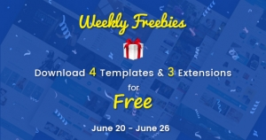 Weekly Freebies #2:  4 Premium Joomla Templates and 3 Extensions