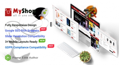MyShop - Top Multipurpose OpenCart 3 Theme (3 Mobile Layouts Included)