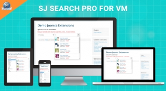 SJ Search Pro for Virtuemart - Responsive Joomla! Module