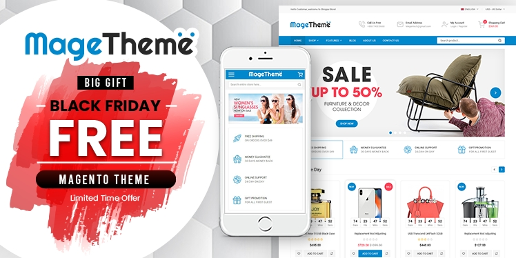 Download SM MageTheme - FREE Magento 2 Theme For MultiPurpose Website