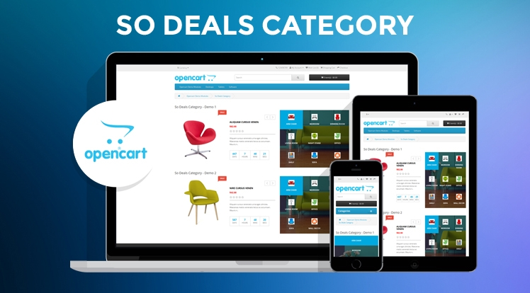 So Deals Category - Responsive OpenCart 3 & 2.x Module